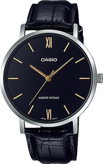 Đồng hồ Casio nam dây da MTP-VT01L-1BUDF (40mm)
