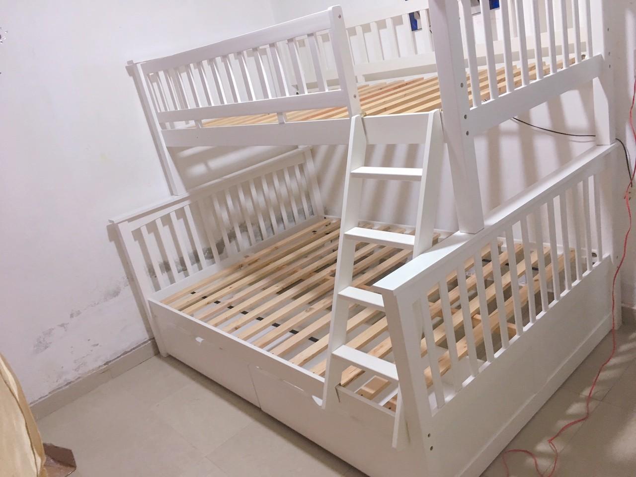 Giường tầng ATLANTIC White