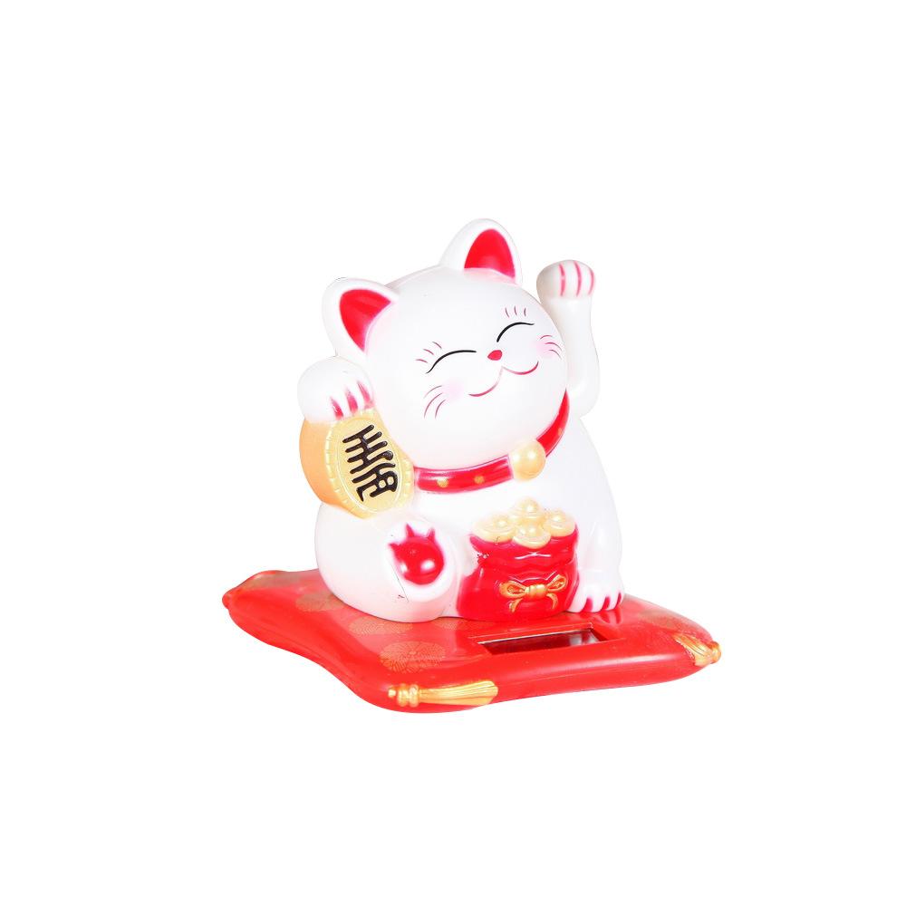 Mèo Thần Tài Vẫy Tay Tự Động - Xài Pin (Màu Ngẫu Nhiên)  Trưng Bày Cửa Hàng, Quán Ăn, Địa Điểm Kinh Doanh - Mang Lại May Mắn