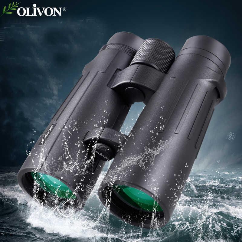 Ống nhòm Olivon Crane 10×50 Chính Hãng, Hình ảnh sáng nét, chống nước tuyệt đối.