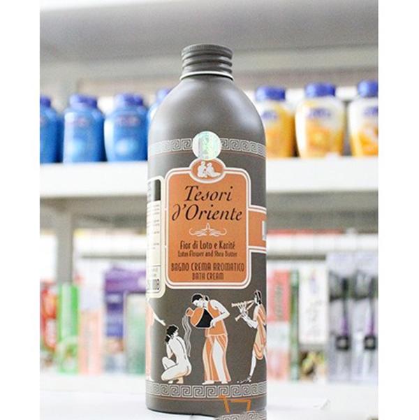 Sữa tắm hương hoa sen Tesori D' Oriente Lotus Flower 500ml + Móc khóa