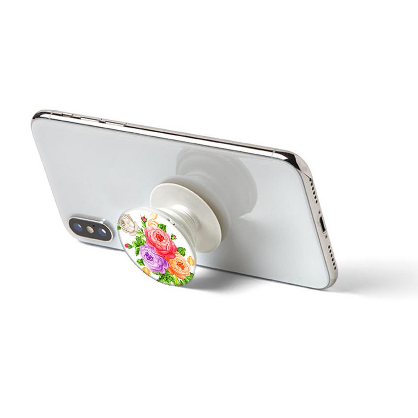 Gía đỡ điện thoại đa năng, tiện lợi - Popsockets - In hình HOAMAUDON 01 - Hàng Chính Hãng