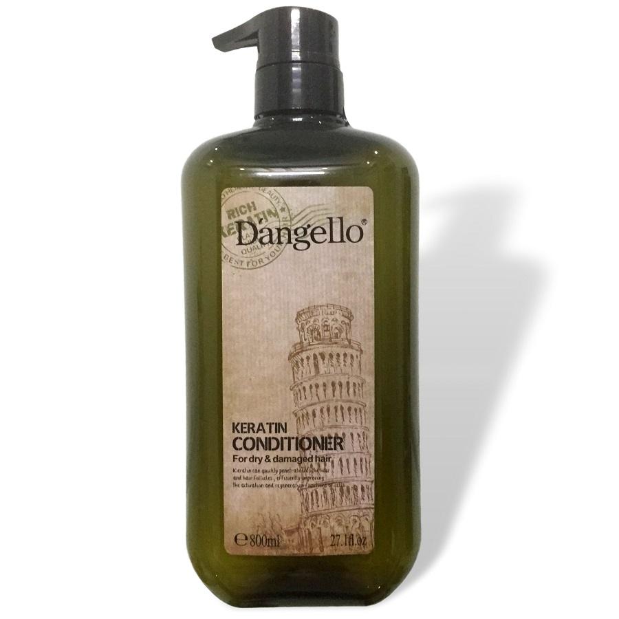 Dầu xả siêu mượt cho tóc khô hư tổn D'angello Keratin conditioner 800ml