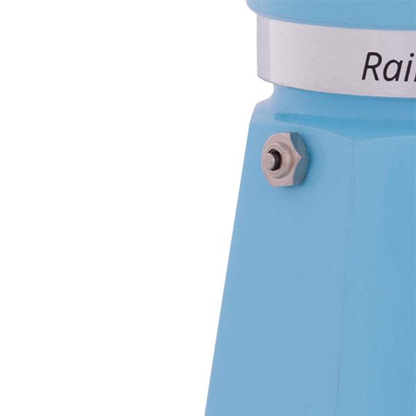 BÌNH PHA CÀ PHÊ BIALETTI RAINBOW BLUE 3 CUP. HÀNG CHÍNH HÃNG