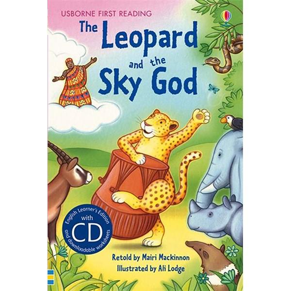 Usborne The Leopard and the Sky God + CD