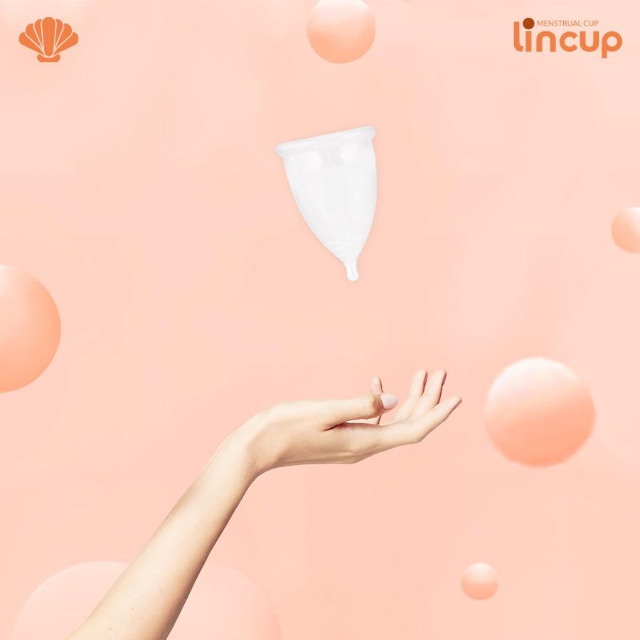 Bộ Cốc nguyệt san Lincup Sensitive (Cho người lần đầu sử dụng cốc) dung tích 28ml(Tặng chai dung dịch vệ sinh phụ nữ Shema Lá Đôi)