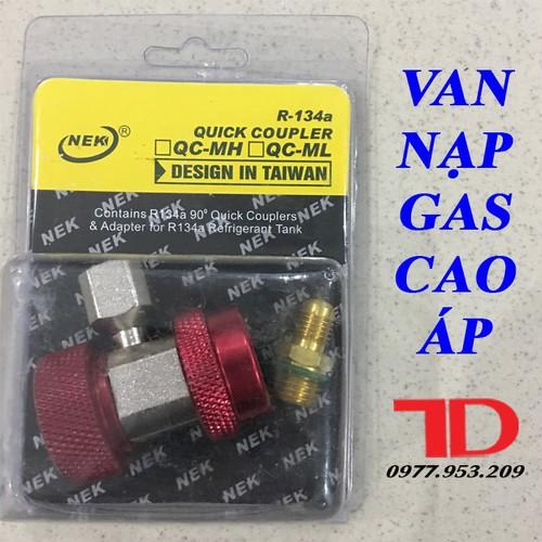 Bộ van nạp gas lạnh cao áp R134
