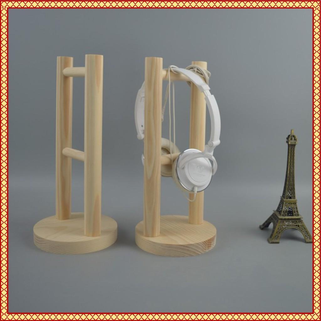 ️ Giá Treo Tai Nghe Bằng Gỗ Cực Chất ( Headset Stand, Giá Treo Tai Nghe Bằng Gỗ Thông )