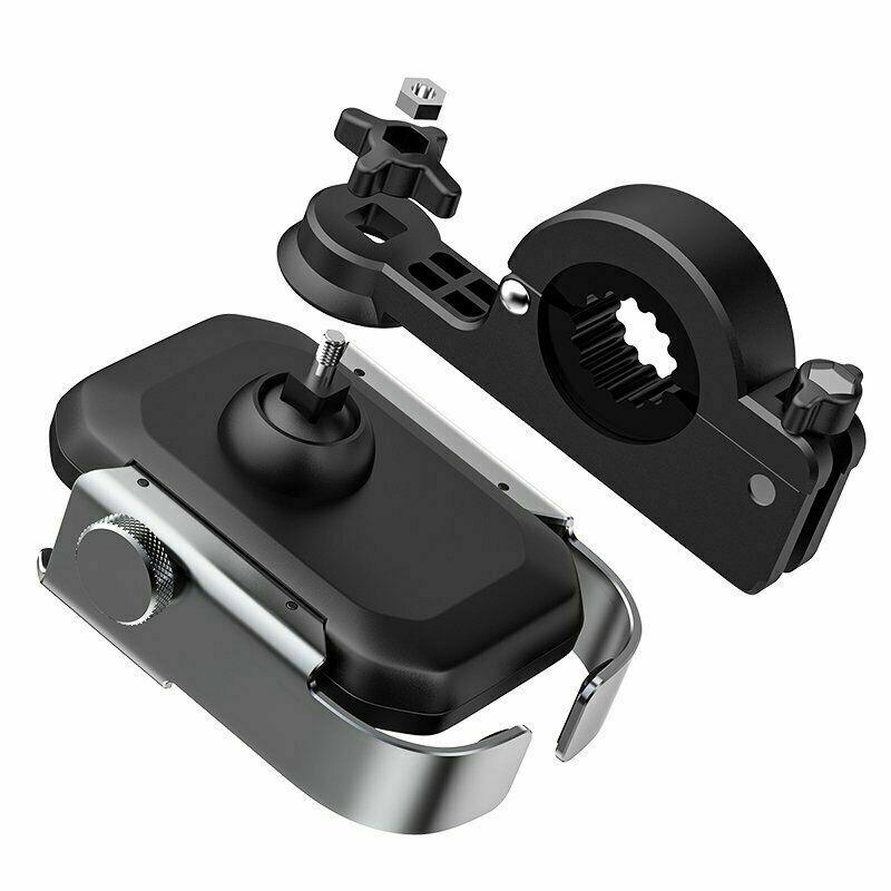 Đế giữ điện thoại siêu bền dùng cho xe máy Baseus Armor Motorcycle Holder Phone Mount/ Holeder Applicable for Bicycle/ Motorbike)