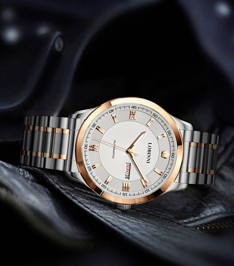 Đồng hồ nam chính hãng Lobinni No.9002-2
