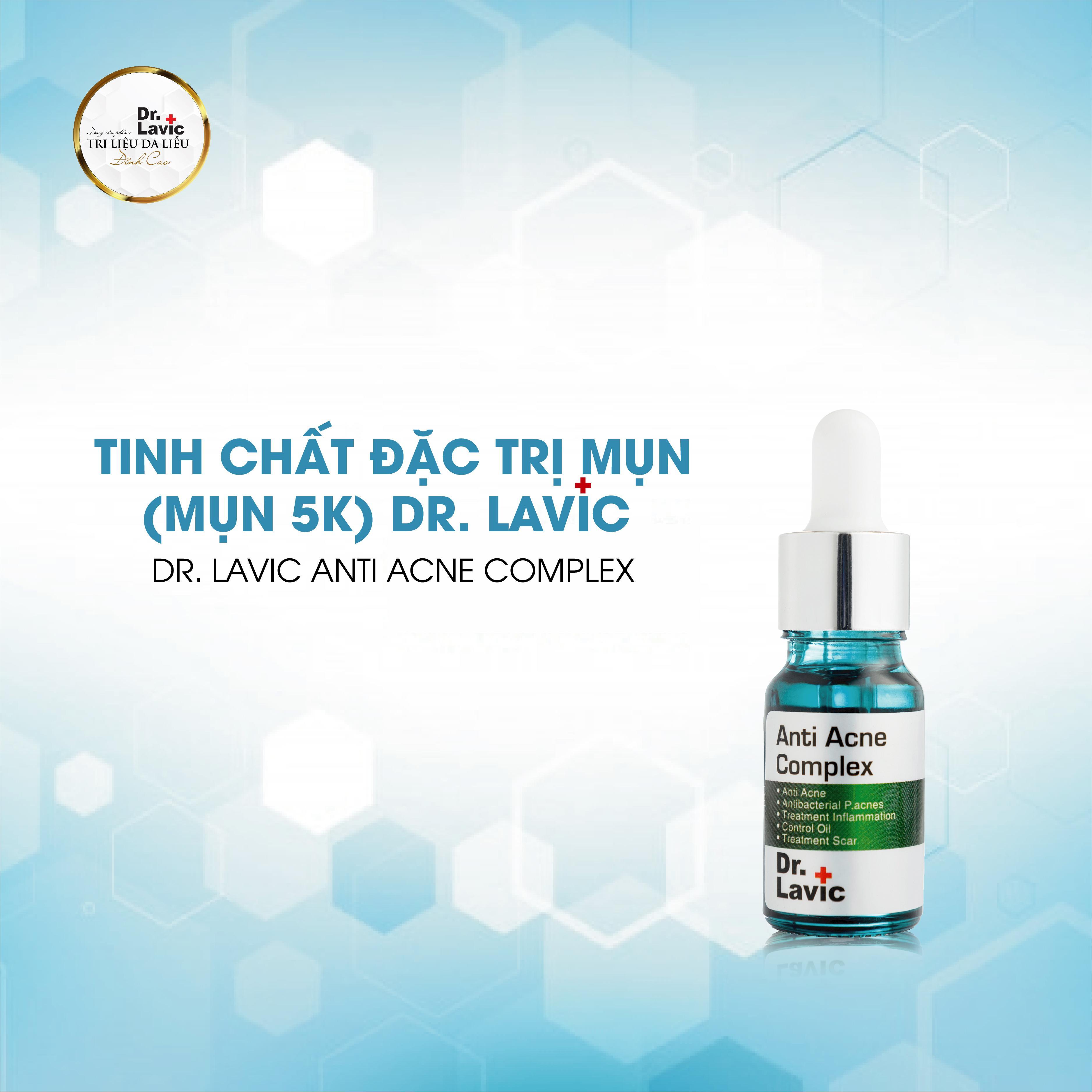 SERUM MỤN 5K DR.LAVIC - Dr.Lavic Anti acne complex