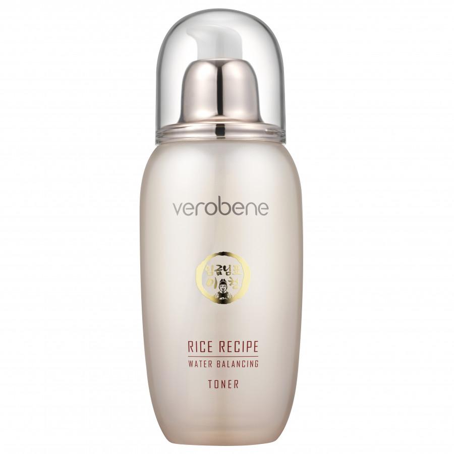 Nước hoa hống dưỡng trắng da, cân bằng độ ẩm- Verobene Rice Ricepe Water Blancing Toner