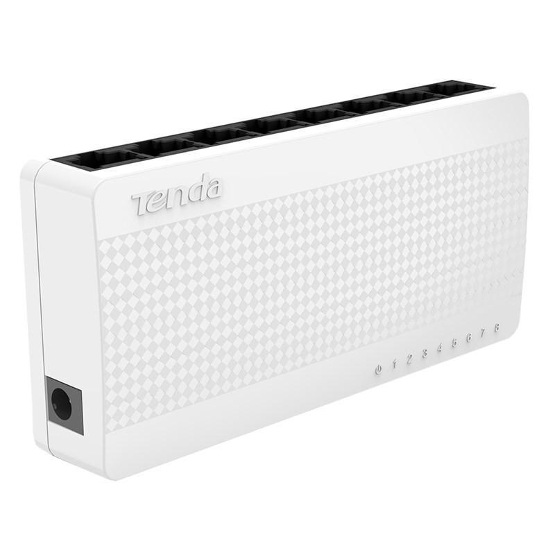 Switch chia mạng Tenda 8 cổng S108 - Hàng Chính Hãng