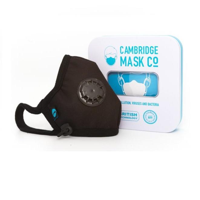 Khẩu Trang Cambridge Mask Churchill Pro N99 Hàng Chính Hãng Lọc Bụi Siêu Mịn PM0.3, Virus, Vi Khuẩn Và Tất Cả Các Loại Khí Thải Độc Hại.