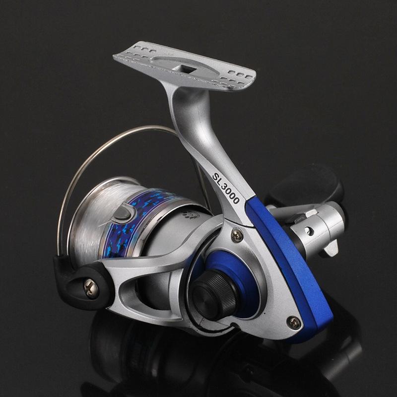 Bộ cần câu cá - cần câu cá  kèm máy câu 5000 - Tặng kèm nhiều phụ kiện BCC03