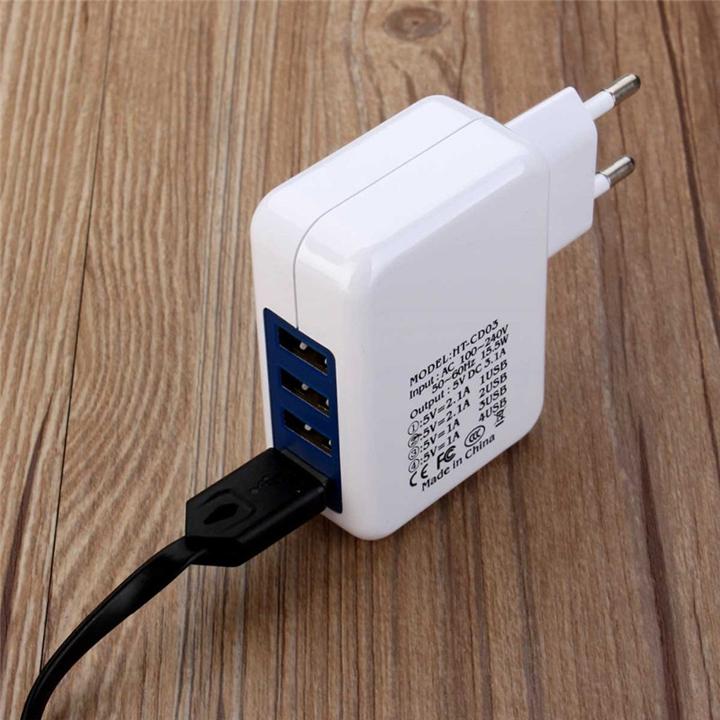 Củ Sạc Nhanh 4 Cổng USB