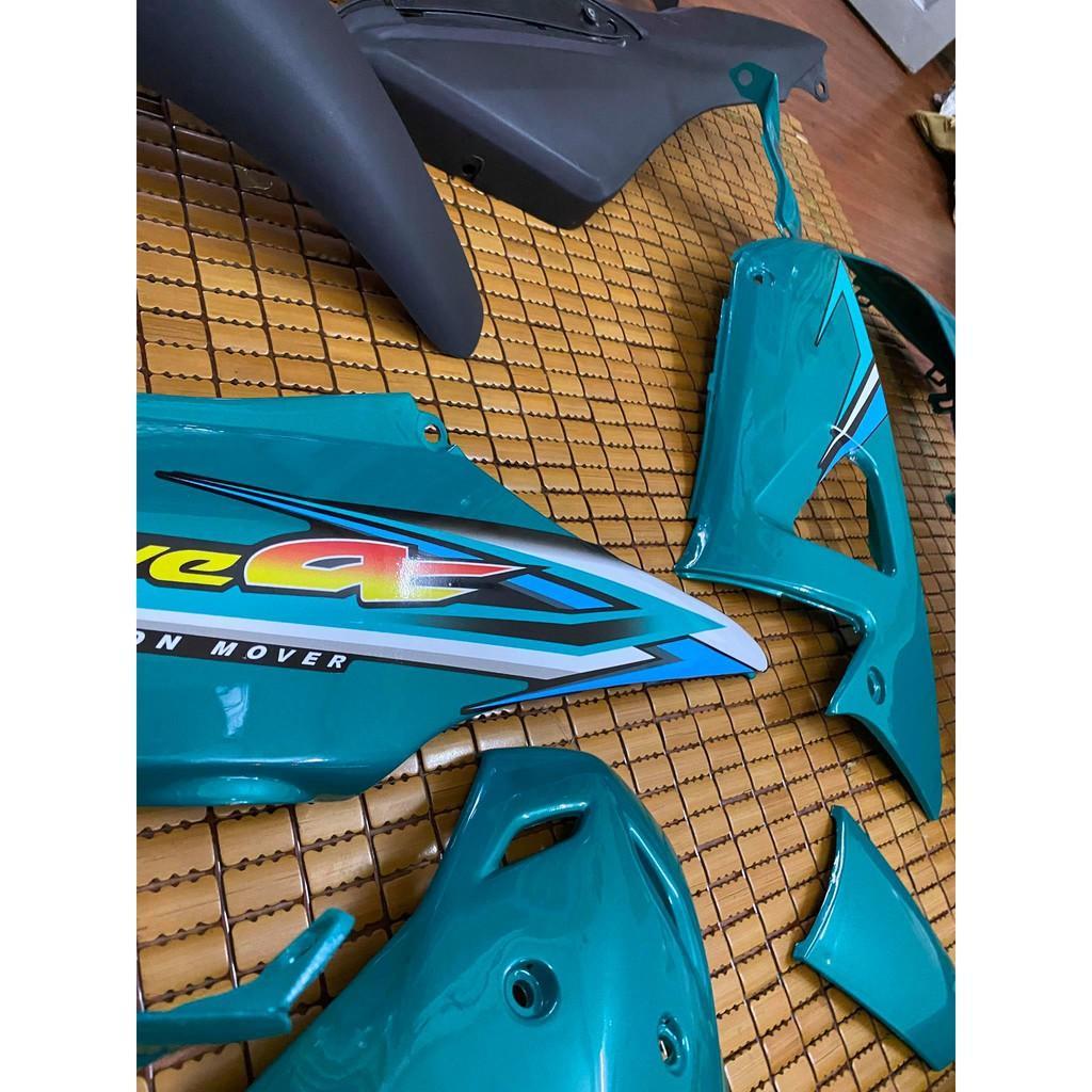 Dàn áo dành cho Honda Wave A/Rs/S 100 loại 1 màu Lục Bảo