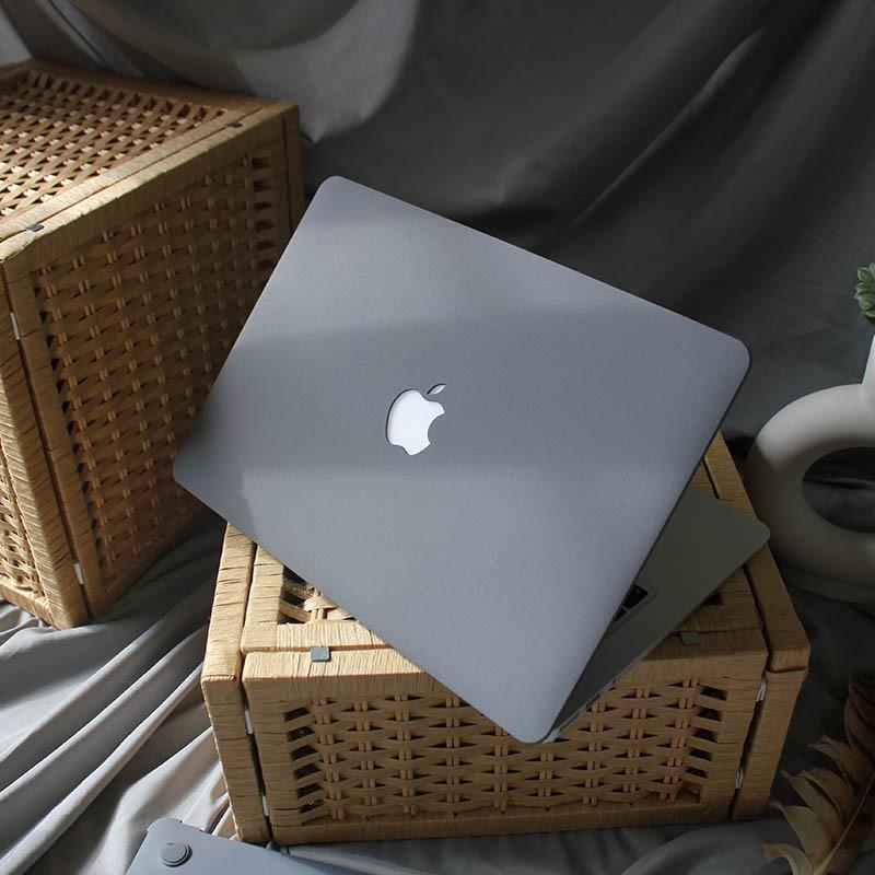 Case, ốp lưng dành cho Macbook đủ dòng - màu xám
