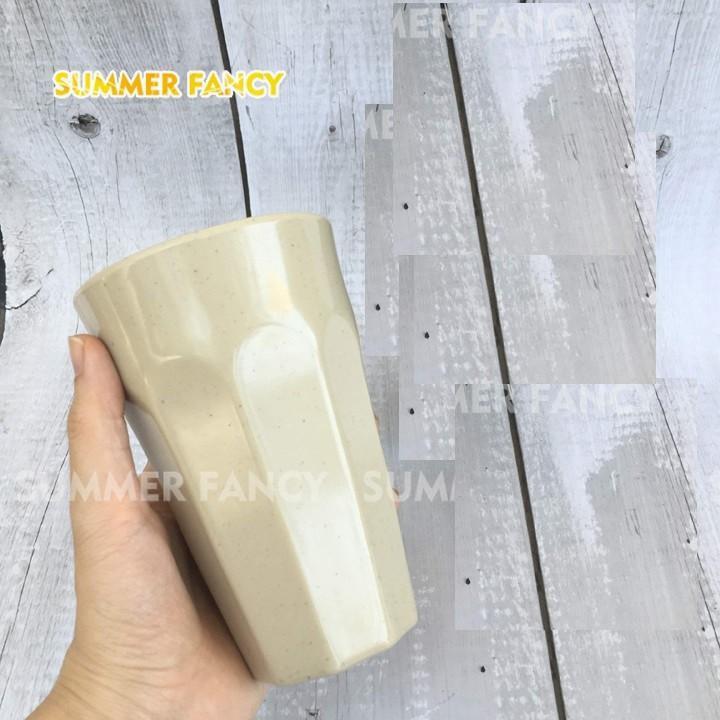 Ly nhựa Melamine vân đá cao cấp