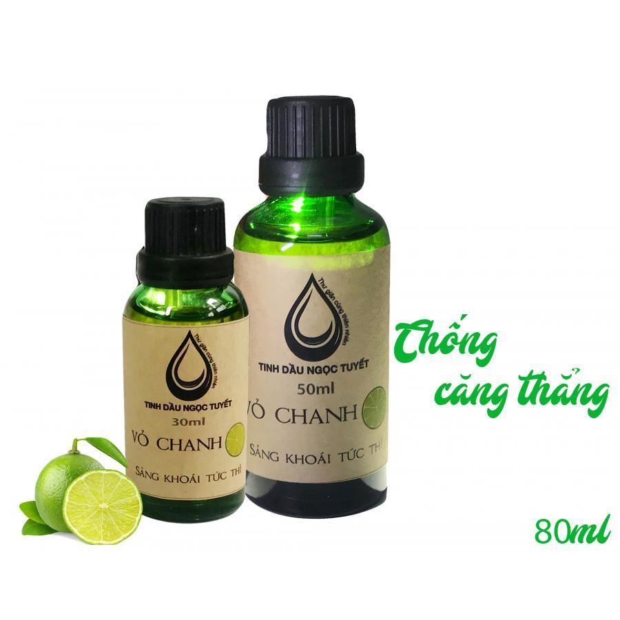 Combo 2 chai tinh dầu vỏ chanh giúp làm giảm lo lắng và căng thẳng Ngọc Tuyết 50mlx30ml