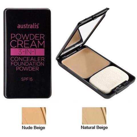 Phấn Nền Dạng Kem 3 Trong 1 Powder Cream Australis Úc 1