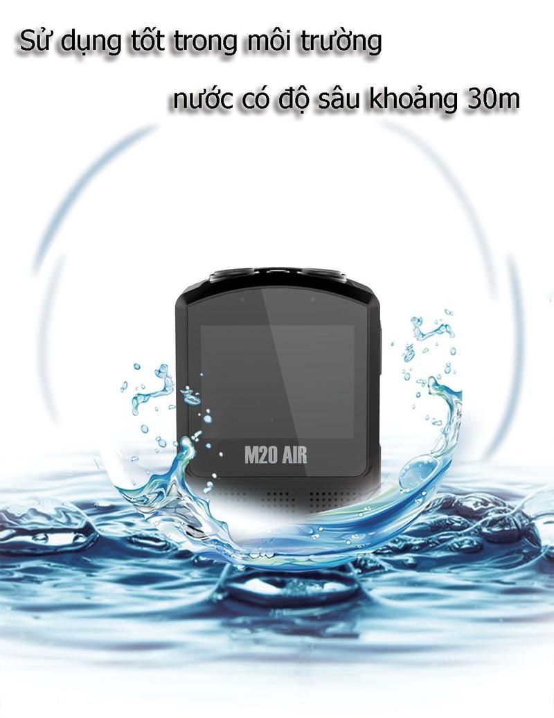 Camera Hành Trình SJCAM M20 Air Full HD Wifi - Hàng Chính Hãng