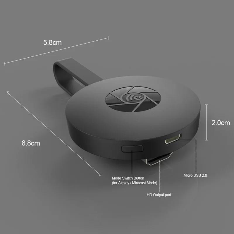 Thiết bị Stream không dây Chromecast  Mirascreen G2 ( hàng nhập khẩu )