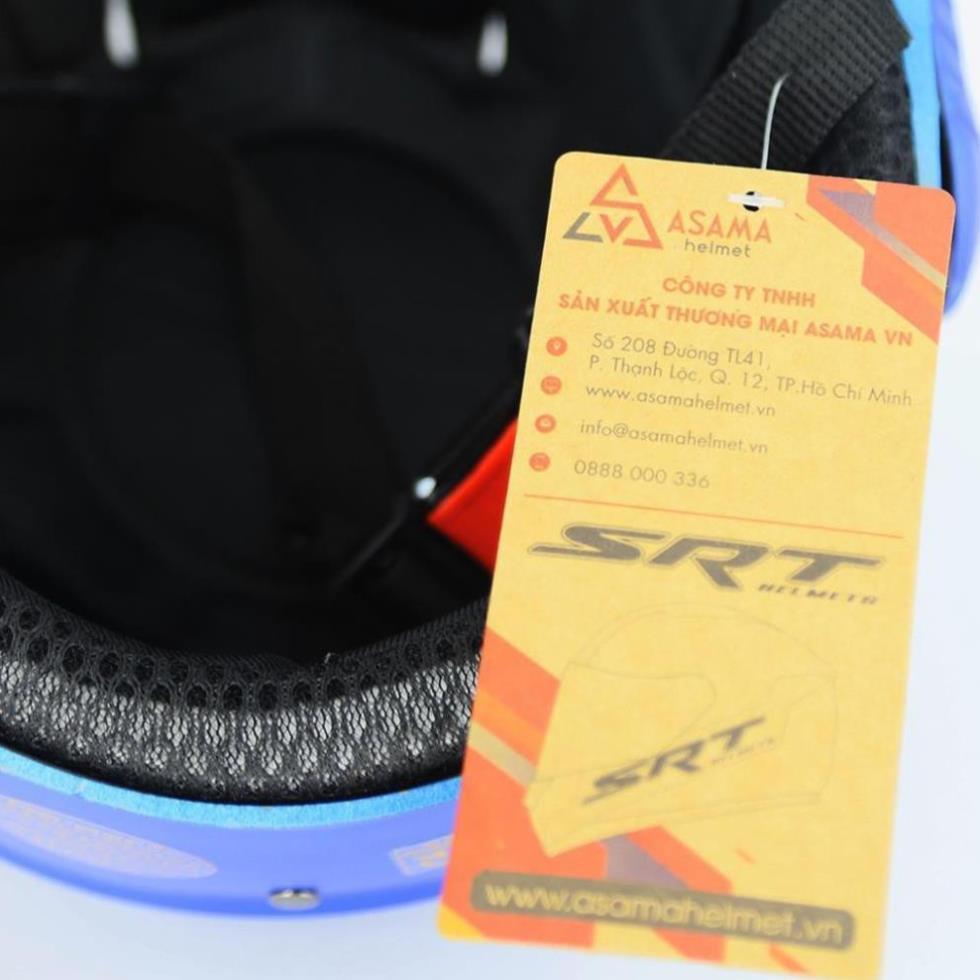Mũ Bảo Hiểm Nửa Đầu SRT ACE M1