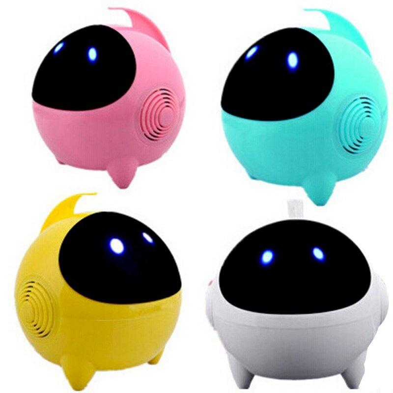 Loa Robot Phi Hành Gia USB 2.0 Loa Stereo Âm Thanh Vòm 3D Cho Điện Thoại, Máy Tính, Tablet
