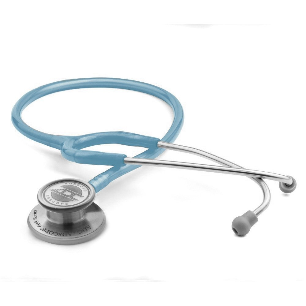 ỐNG NGHE ADC 608 MCB hai mặt màng phù hợp sử dụng cho cả người lớn và trẻ em, độ nhạy âm thanh cao phù hợp cho khám đa khoa tổng quát