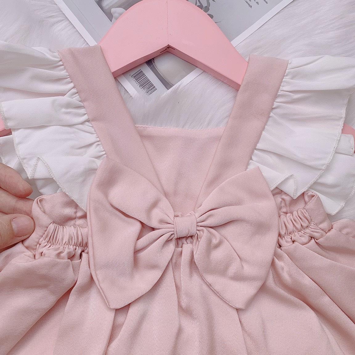 Đồ bộ bé gái - Như Ý House Set đồ bộ dễ thương cho bé từ 5- 18 kg