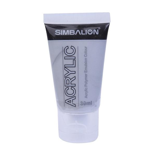 Màu Vẽ Simbalion Acrylic 30ml NAC30 - 49 - Bạc