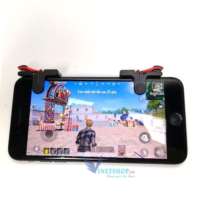 Nút bấm chơi game Pubg Hỗ Trợ Chơi Pubg Mobile, Ros Mobile D9/X10/R11/K8/CH2/Taurus MK1/Blue SharK