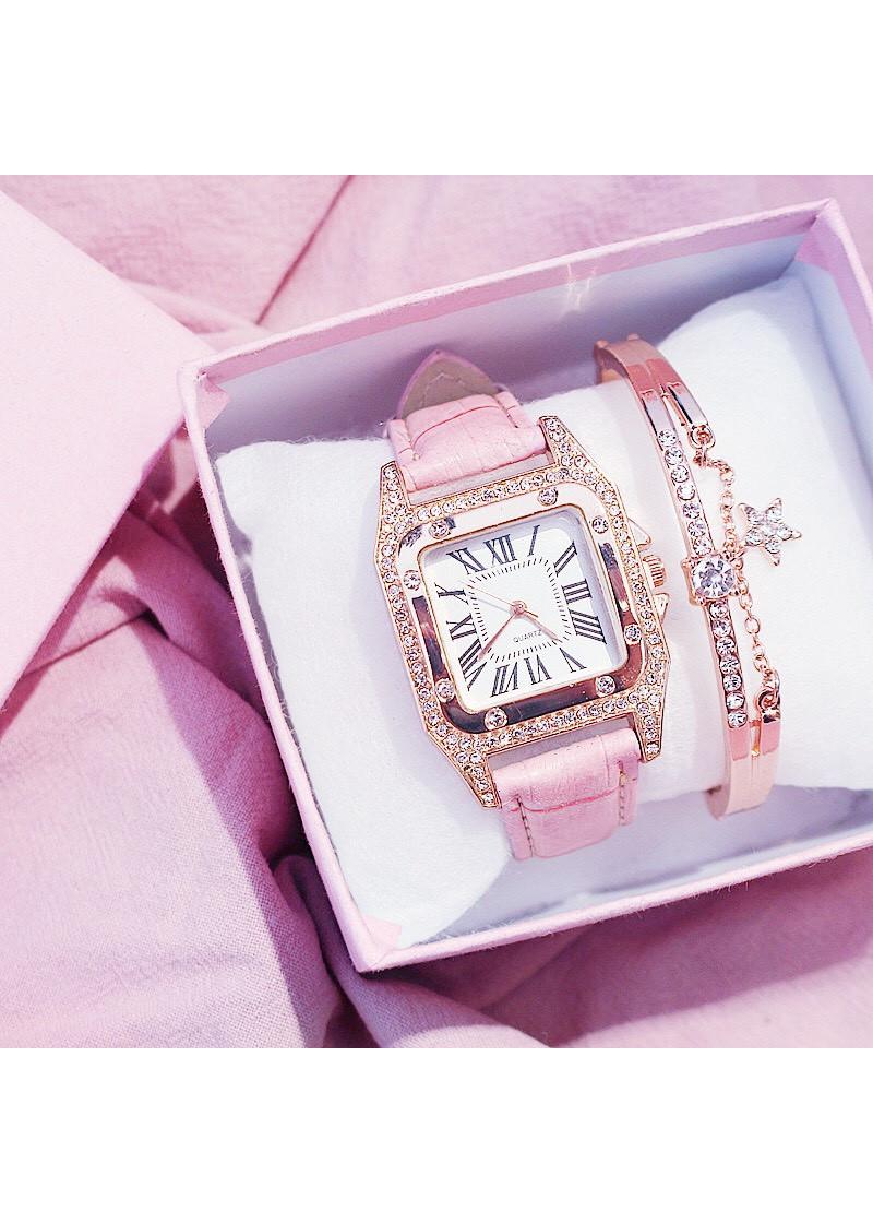 Đồng hồ thời trang nữ DZG đính đá cực đẹp ZO46