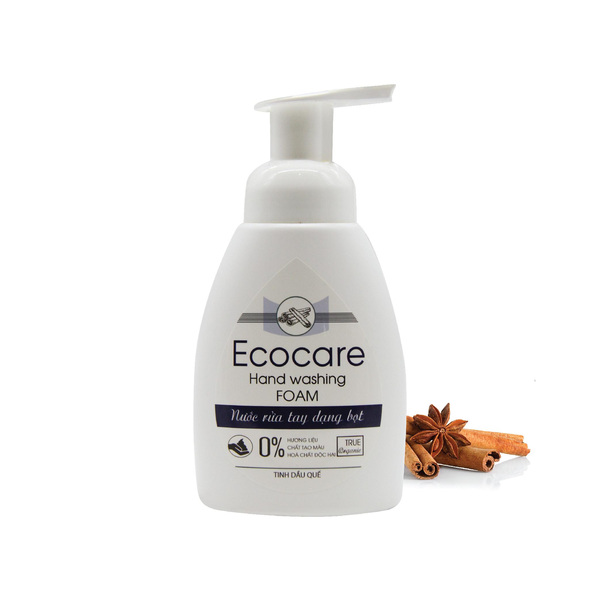 Nước rửa tay hữu cơ diệt khuẩn dạng bọt tinh dầu Quế 250ml thương hiệu Ecocare - 23154470 , 2069804404207 , 62_10732017 , 70000 , Nuoc-rua-tay-huu-co-diet-khuan-dang-bot-tinh-dau-Que-250ml-thuong-hieu-Ecocare-62_10732017 , tiki.vn , Nước rửa tay hữu cơ diệt khuẩn dạng bọt tinh dầu Quế 250ml thương hiệu Ecocare
