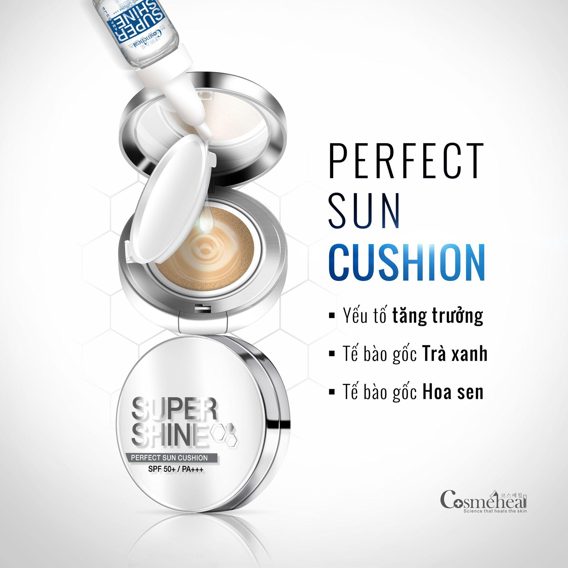 Phấn nước COSMEHEAL SUPER SHINE PERFECT SUN CUSHION