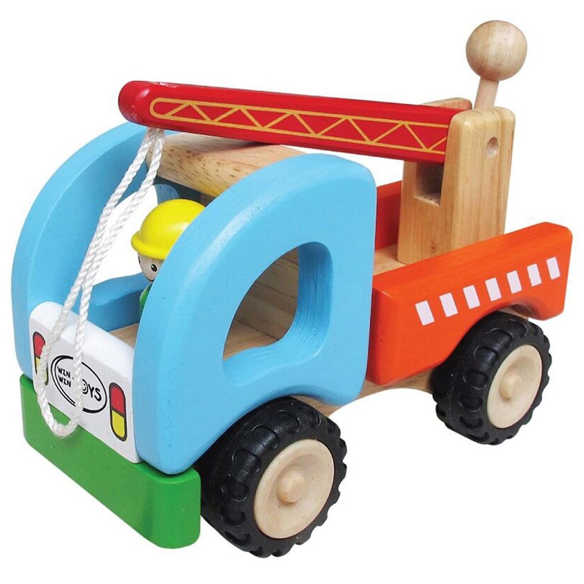 Xe Cần Cẩu Mk - Đồ chơi gỗ