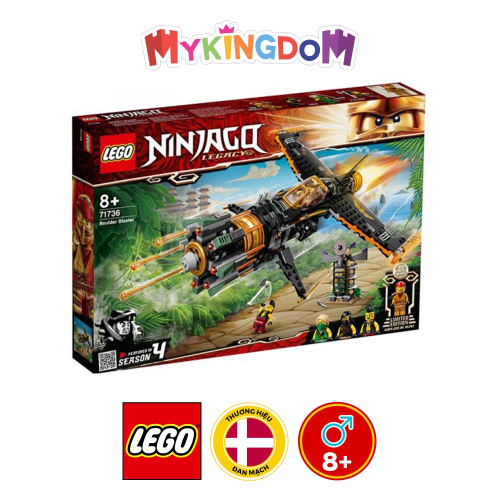 Đồ chơi LEGO Ninjago Phi Cơ Chiến Đấu Của Cole 71736