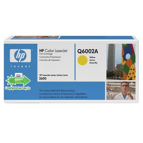 Mực in HP Q6002A - Yellow- Hàng chính hãng