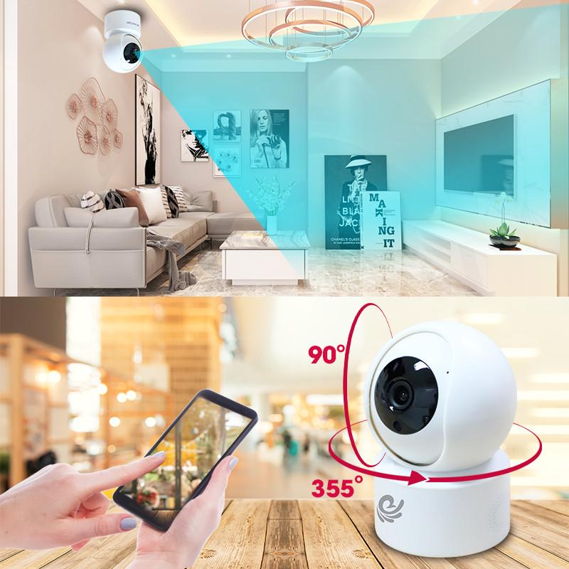 Camera Ip Wifi CareCam CC2020 Full HD 1080P - Đàm Thoại 2 Chiều - Báo Động Cự Nhạy - Hàng Chính Hãng