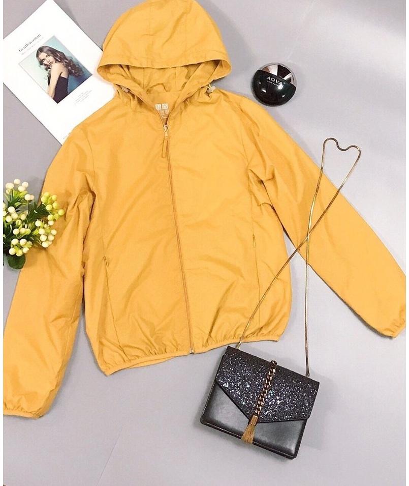 Áo khoác nữ 2 lớp kèm túi đựng