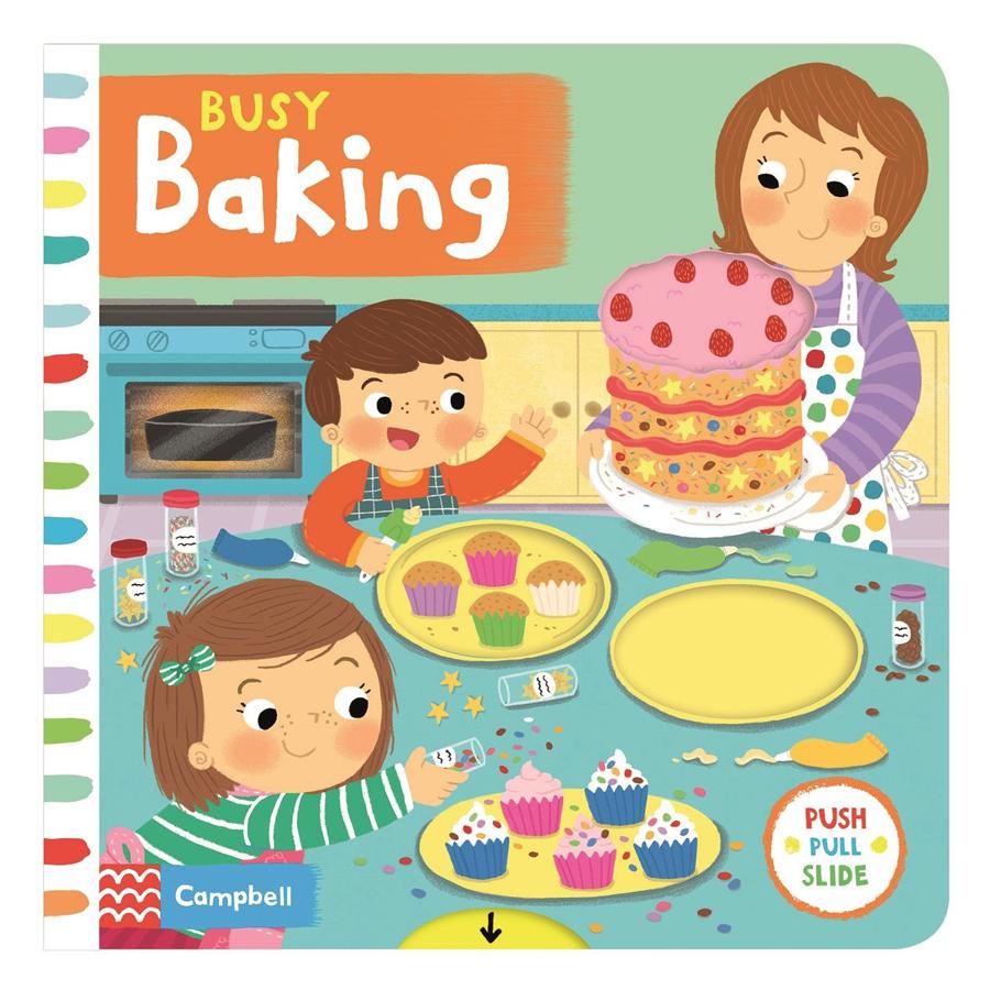 Cambell Fush Full Slide Series: Busy Baking