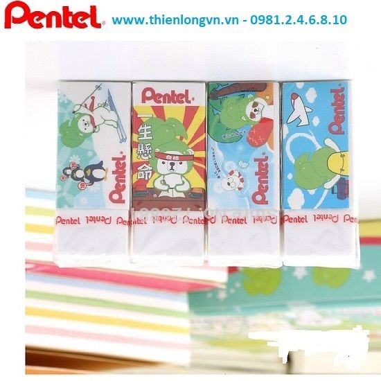 Combo 2 Tẩy Pentel ZEH-05PTP