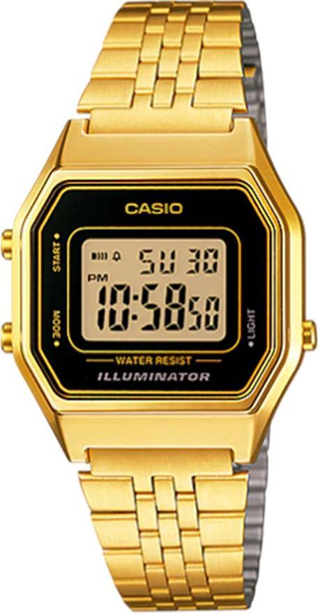 Đồng hồ nữ dây kim loại Casio LA680WGA-1DF