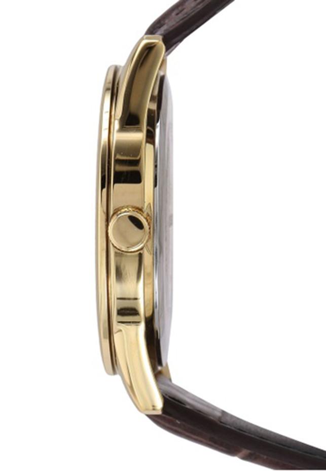 Đồng hồ nam dây da Casio MTP-V005GL-9BUDF