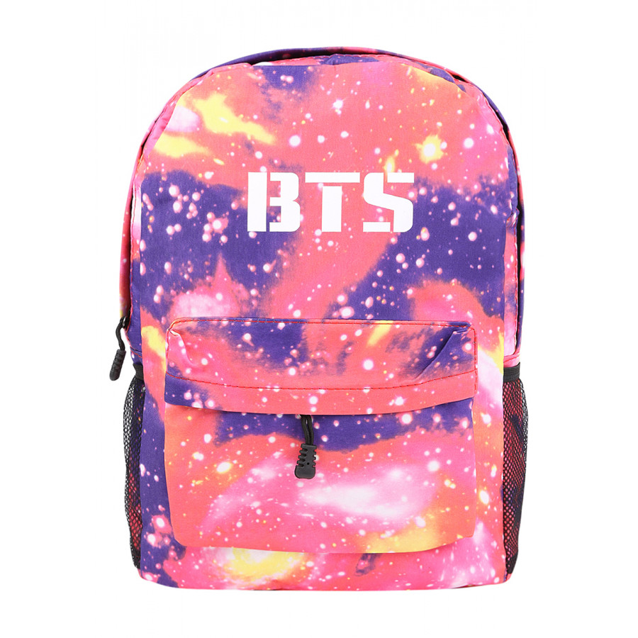 Balo Học Sinh Ban Nhạc BTS - Màu Pink Galaxy