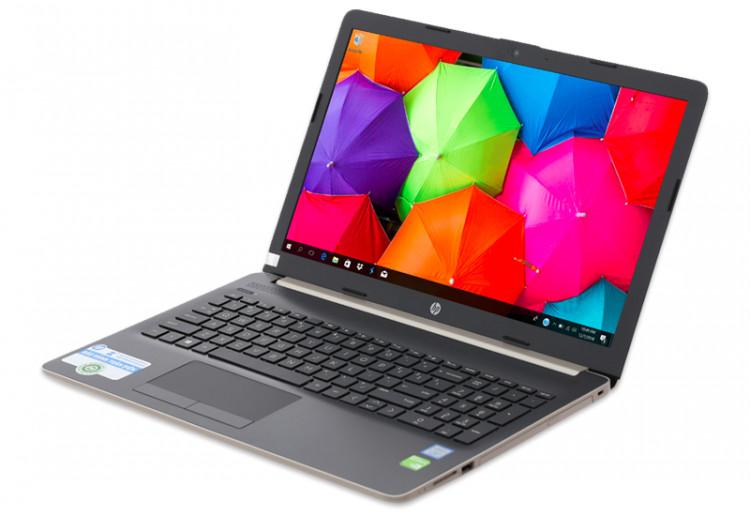 Thiết kế thanh lịch trên Cấu hình mạnh mẽ trên Laptop HP 15 da1033TX i7 (5NK26PA)