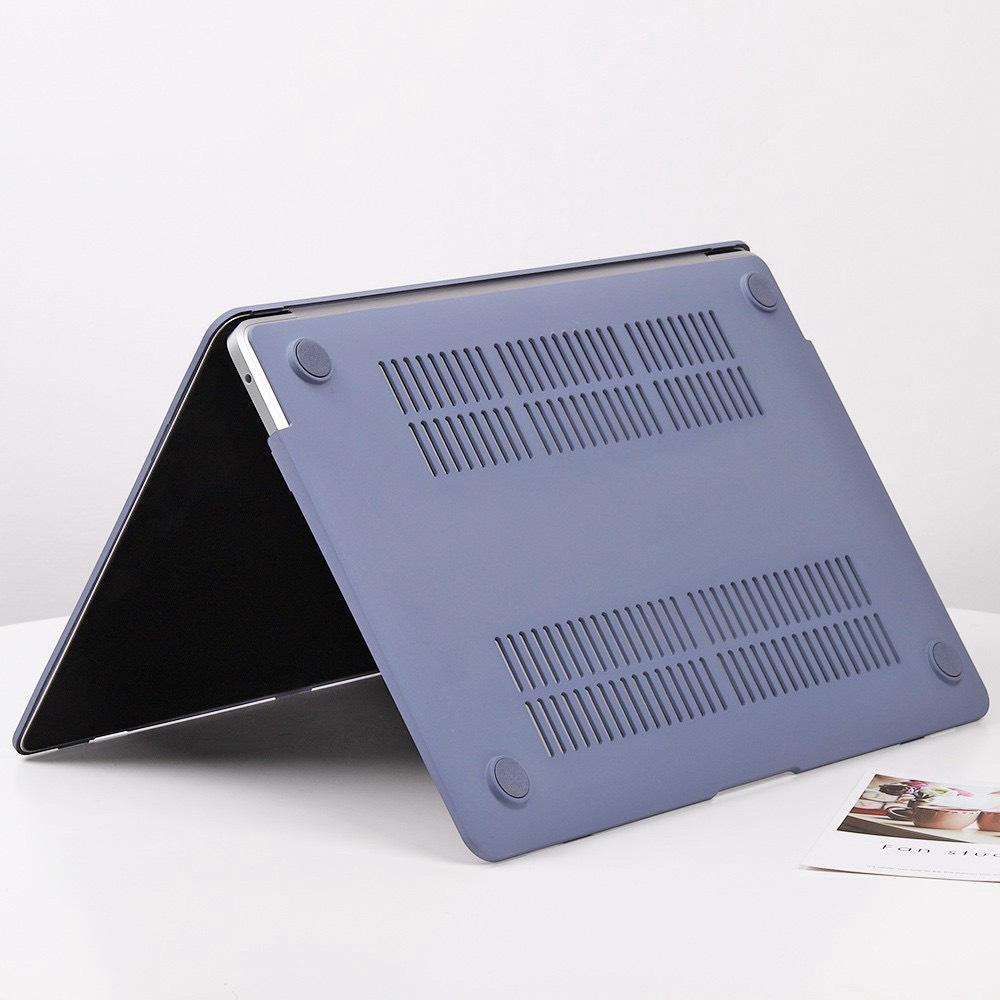 Case ốp nhựa cho Macbook kèm tấm phủ bàn phím silicon - Hàng chính hãng