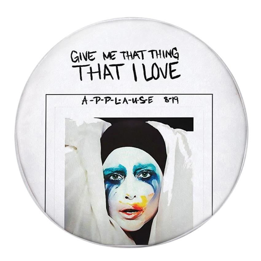 Gối Ôm Tròn That I Love Lady Gaga - GOZUP004