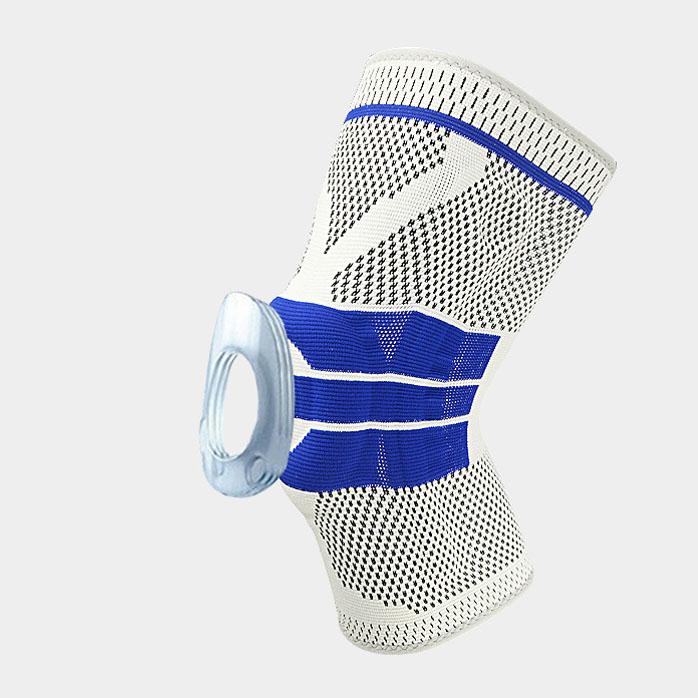 Bảo vệ đầu gối đệm silicon cao cấp Boer 7727 giảm chấn thương khi chơi bóng đá - Hàng chính hãng